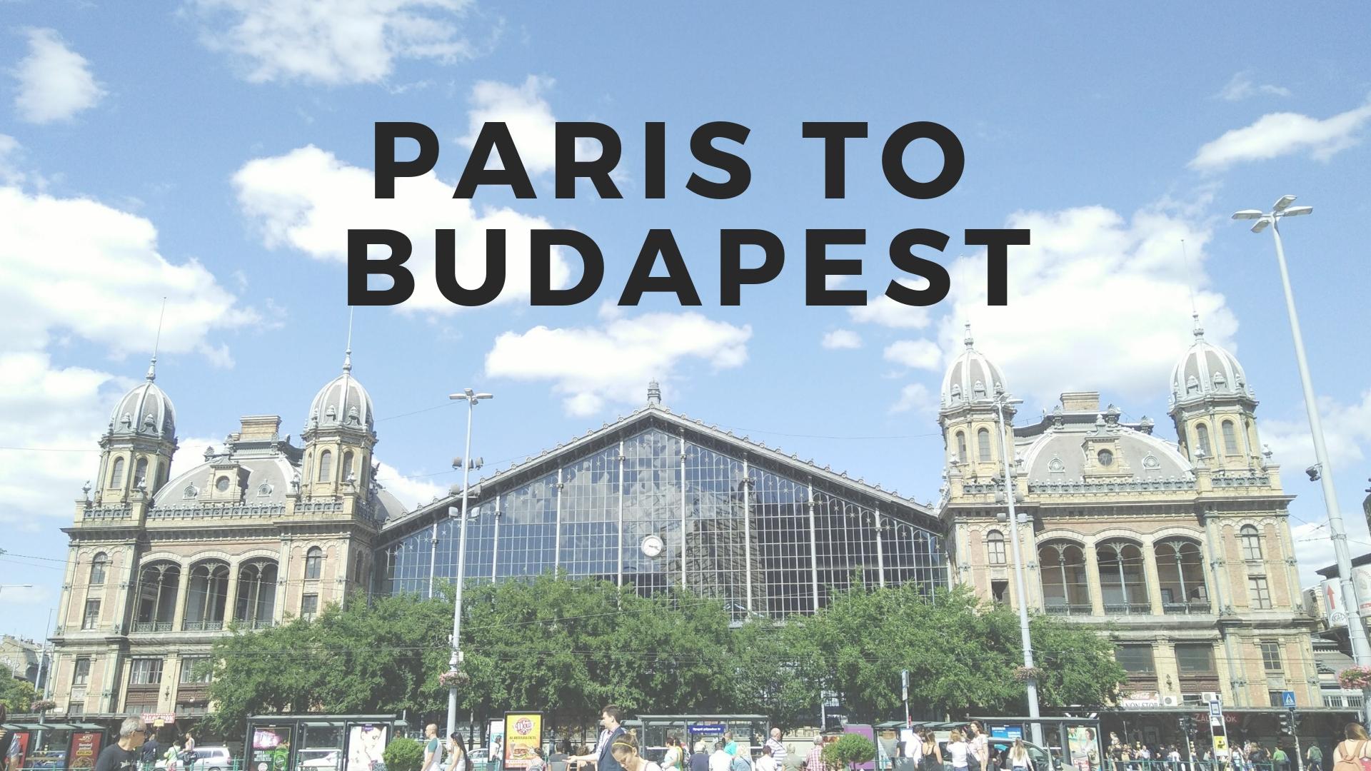 パリからブダペストへ引っ越した私の変化【仕事編】